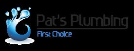 Pat's Plumbing Logo